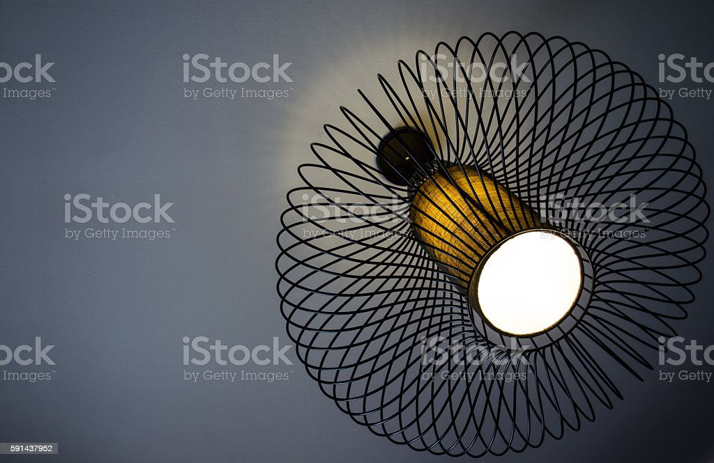 Modern Chandelier stock photo
