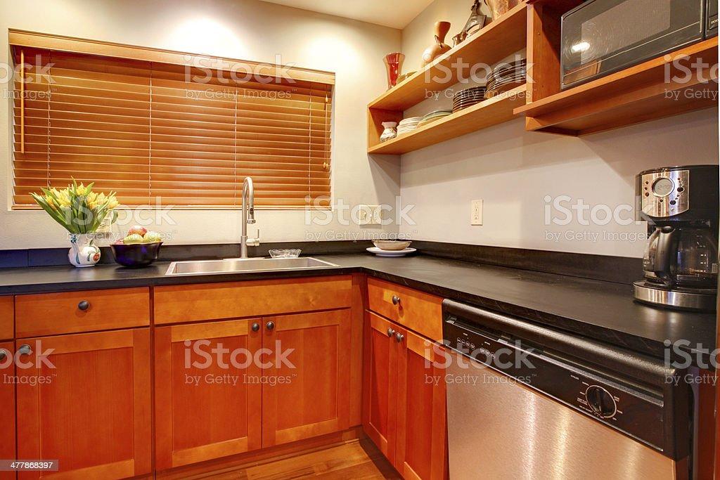 Moderne Küche Mit Kirsche Luxus Schwarzausflug Und ...