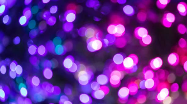 Modern Christmas Light Glow stock photo