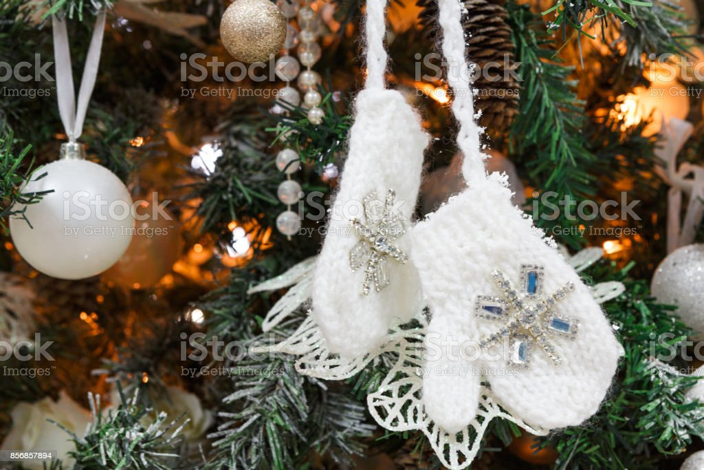 Modern Christmas Tree Decoration Background Stock Photo Download Image Now Istock
