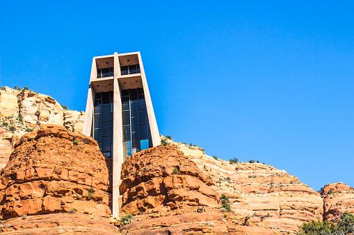 Modern Church Built Into Rock