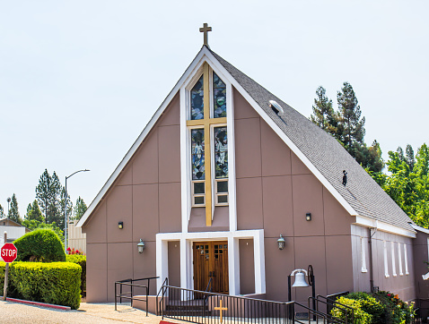 Modern Church In Foothill Community