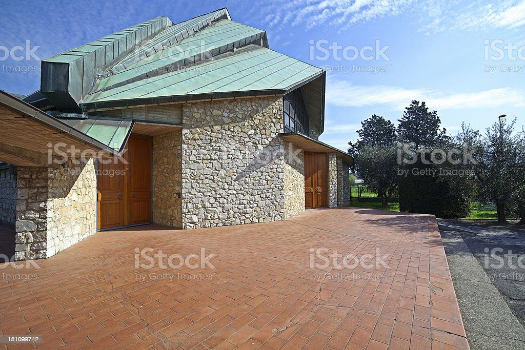 San Luca Evangelista alla Querce catholic church is located in Prato...