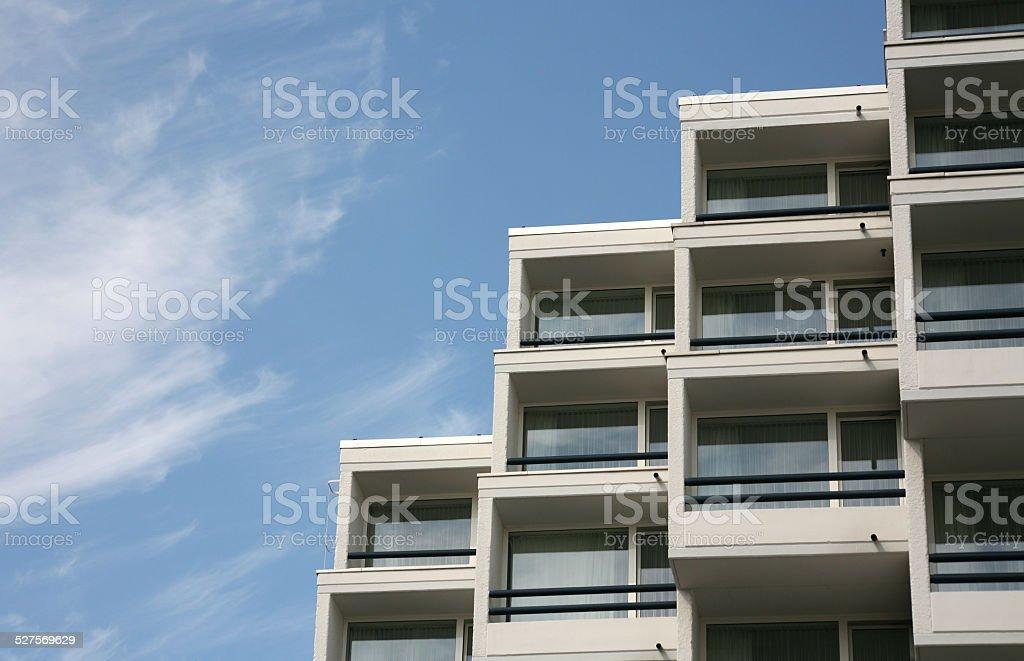 Modern city architecture stock photo