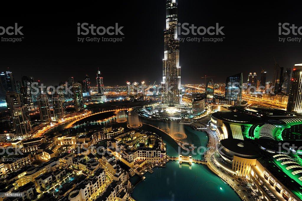 modern city of dubai royalty-free stock photo