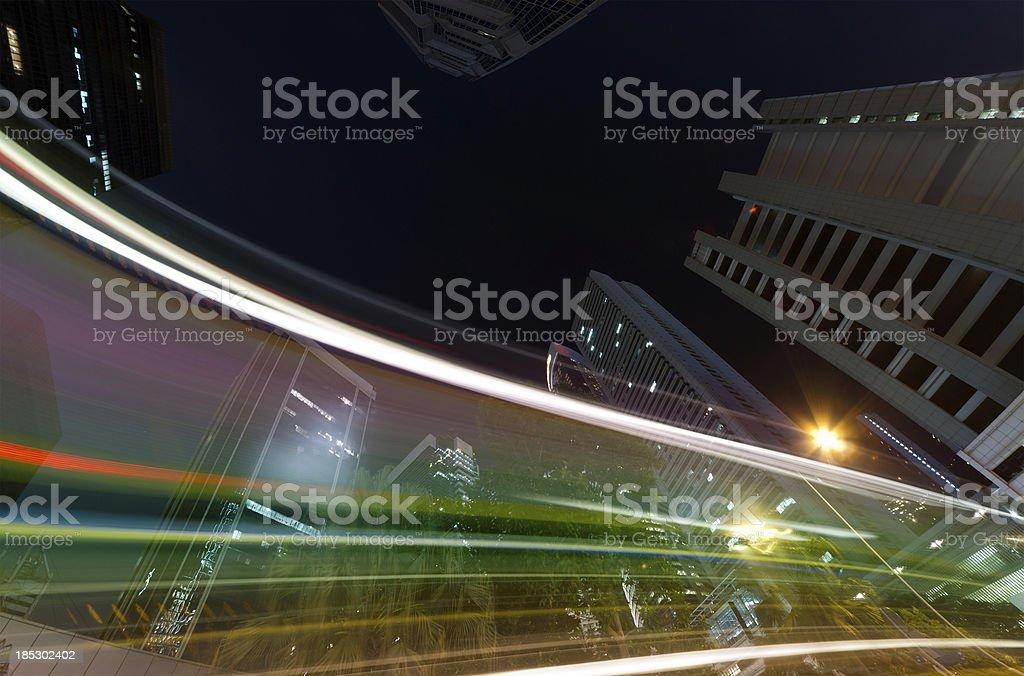 modern city royalty-free stock photo