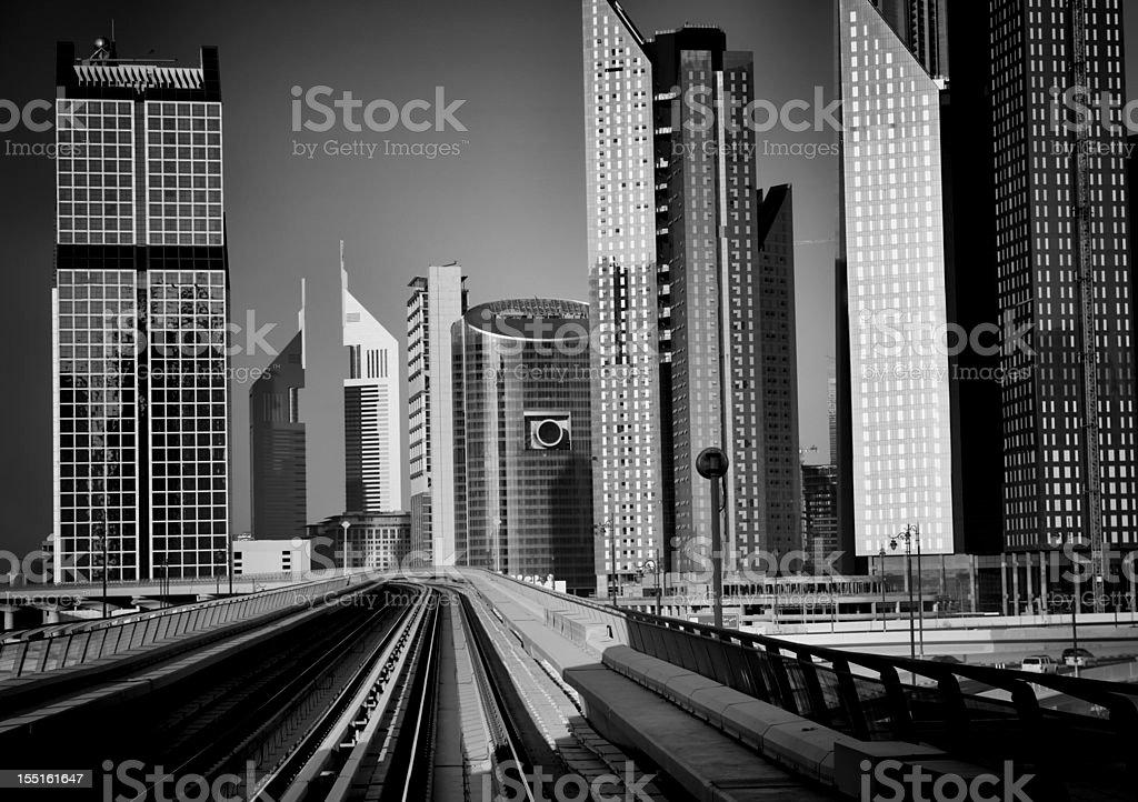 Modern City View stock photo