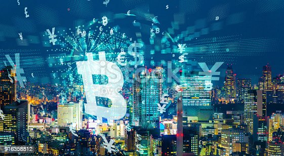 872670560istockphoto Modern cityscape and financial technology concept. 916358812