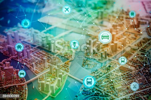 istock modern cityscape and various transportation network 594930294