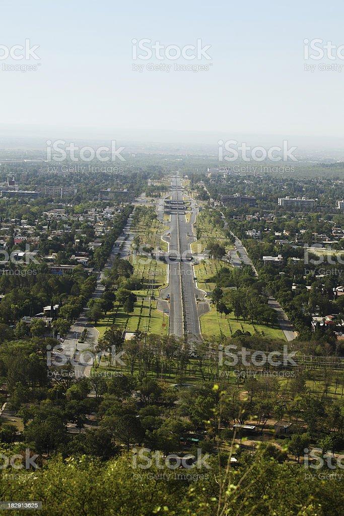 Modern Cityscape Islamabad Pakistan stock photo