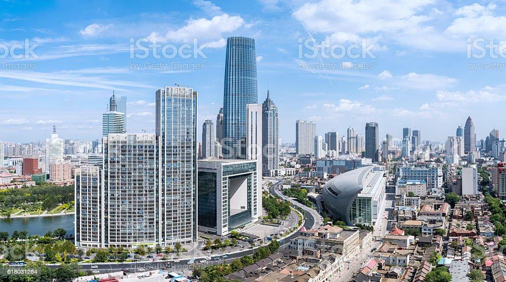 modern cityscape of tianjin – Foto