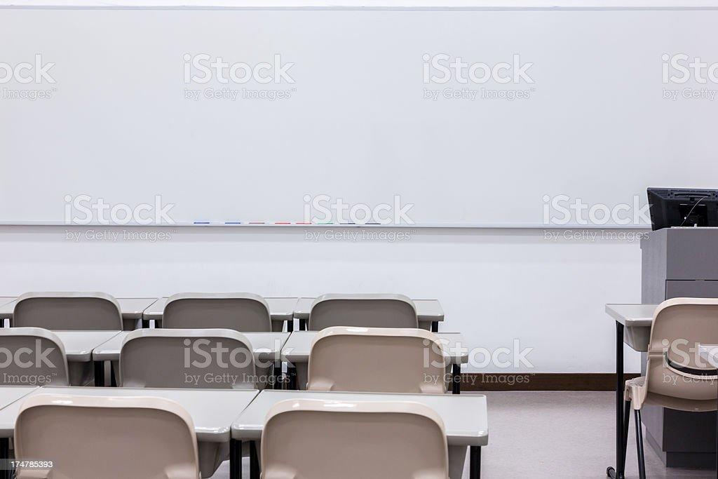 Modern Classroom royalty-free stock photo