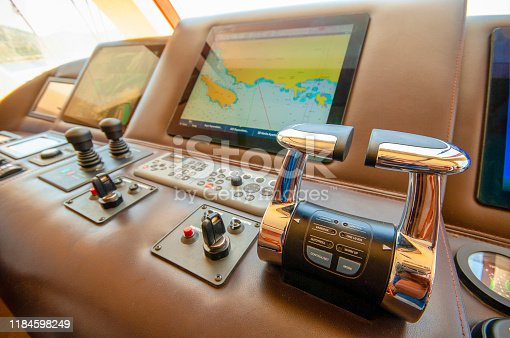 Cruise Control Room in Yacht