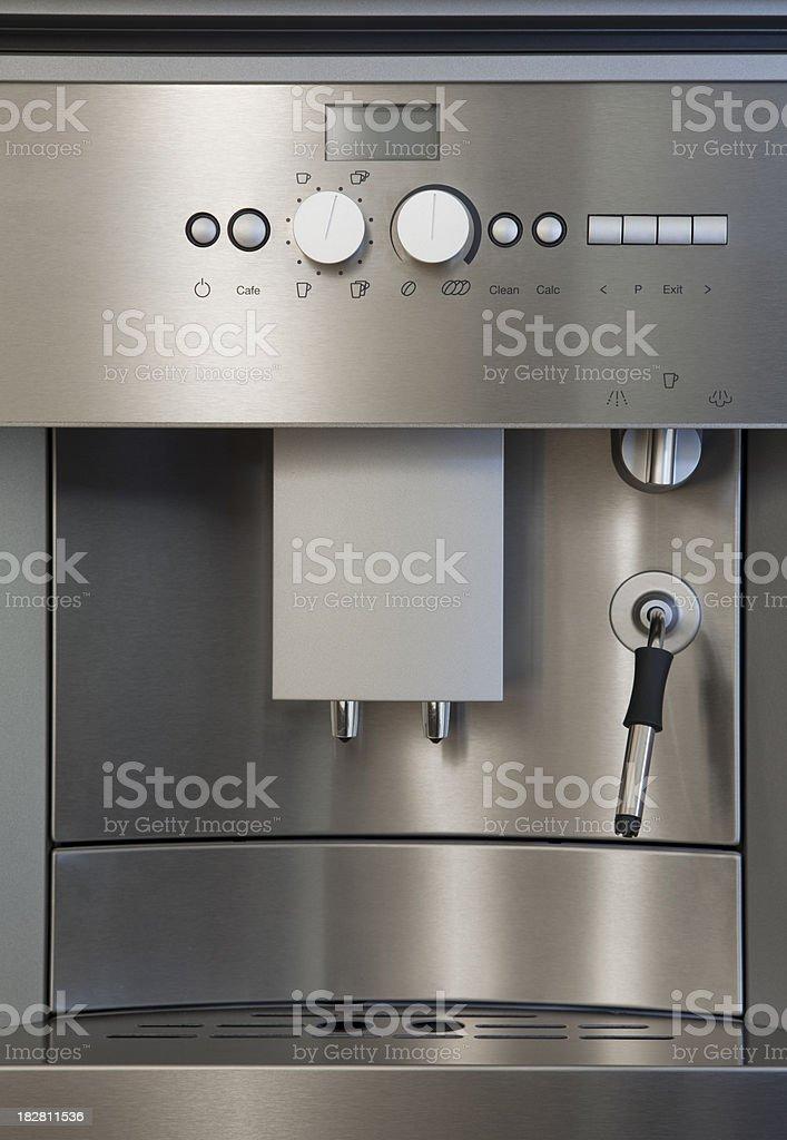 Modern coffee machine royalty-free stock photo