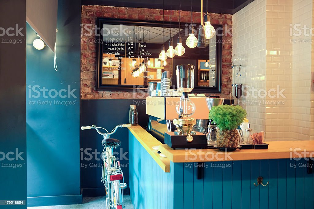 Modern Coffee Shop royalty-free stock photo