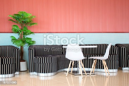 istock Modern Colourful Cafe 187021090