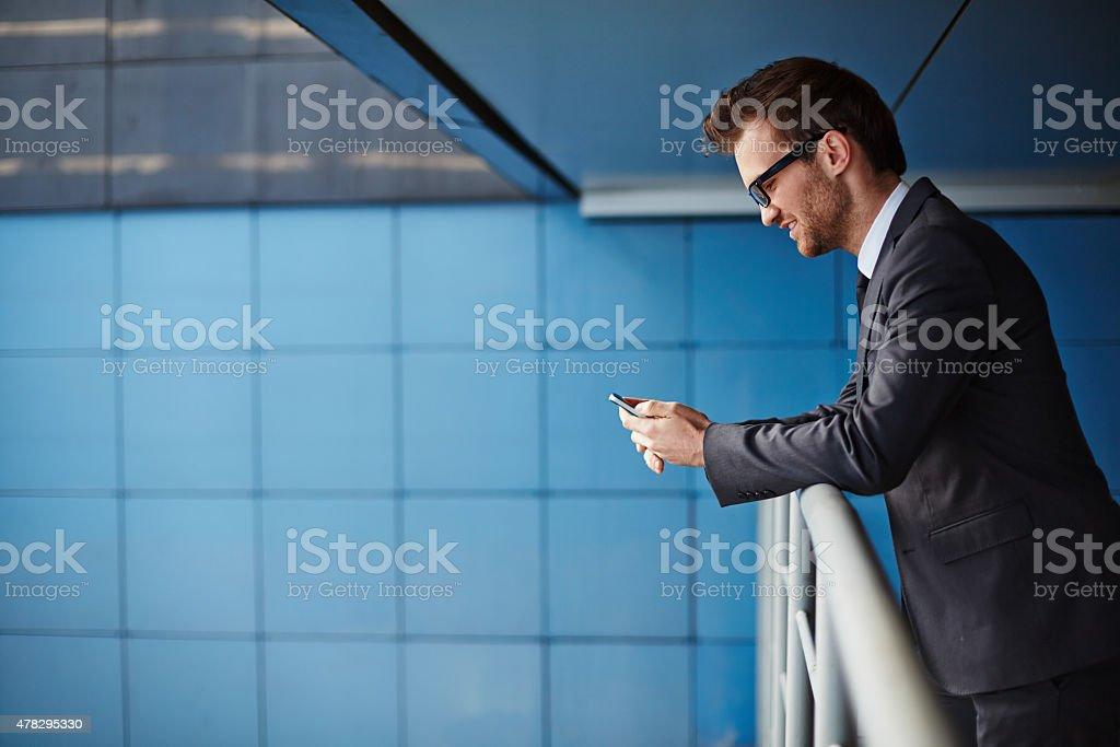 Moderne Kommunikation Lizenzfreies stock-foto