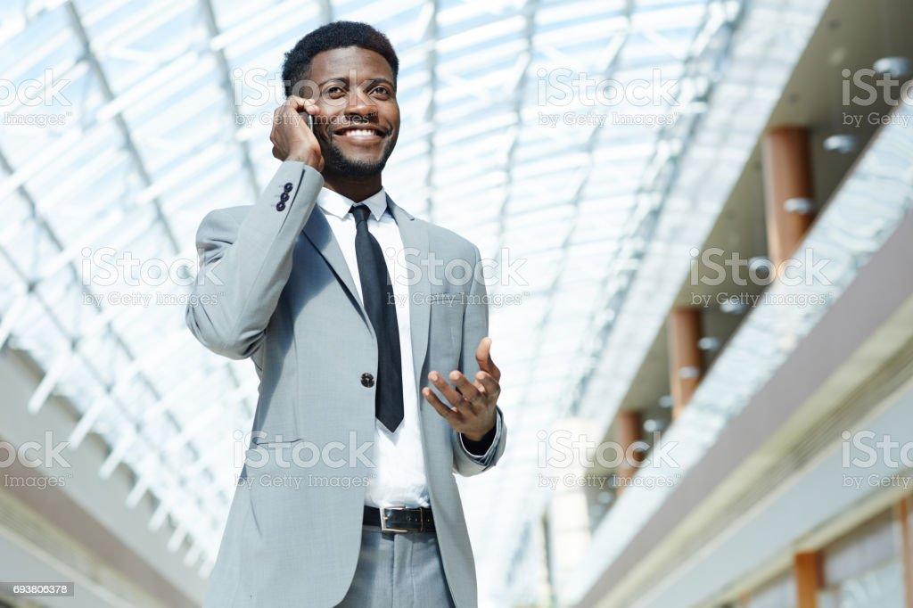 Modern communication stock photo