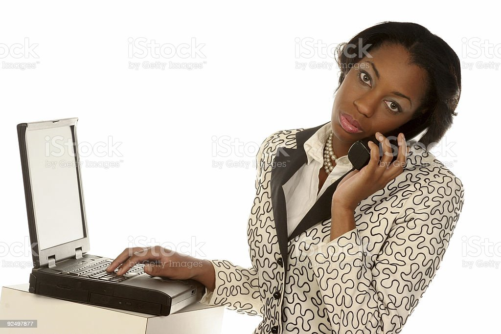 modern communication royalty-free stock photo