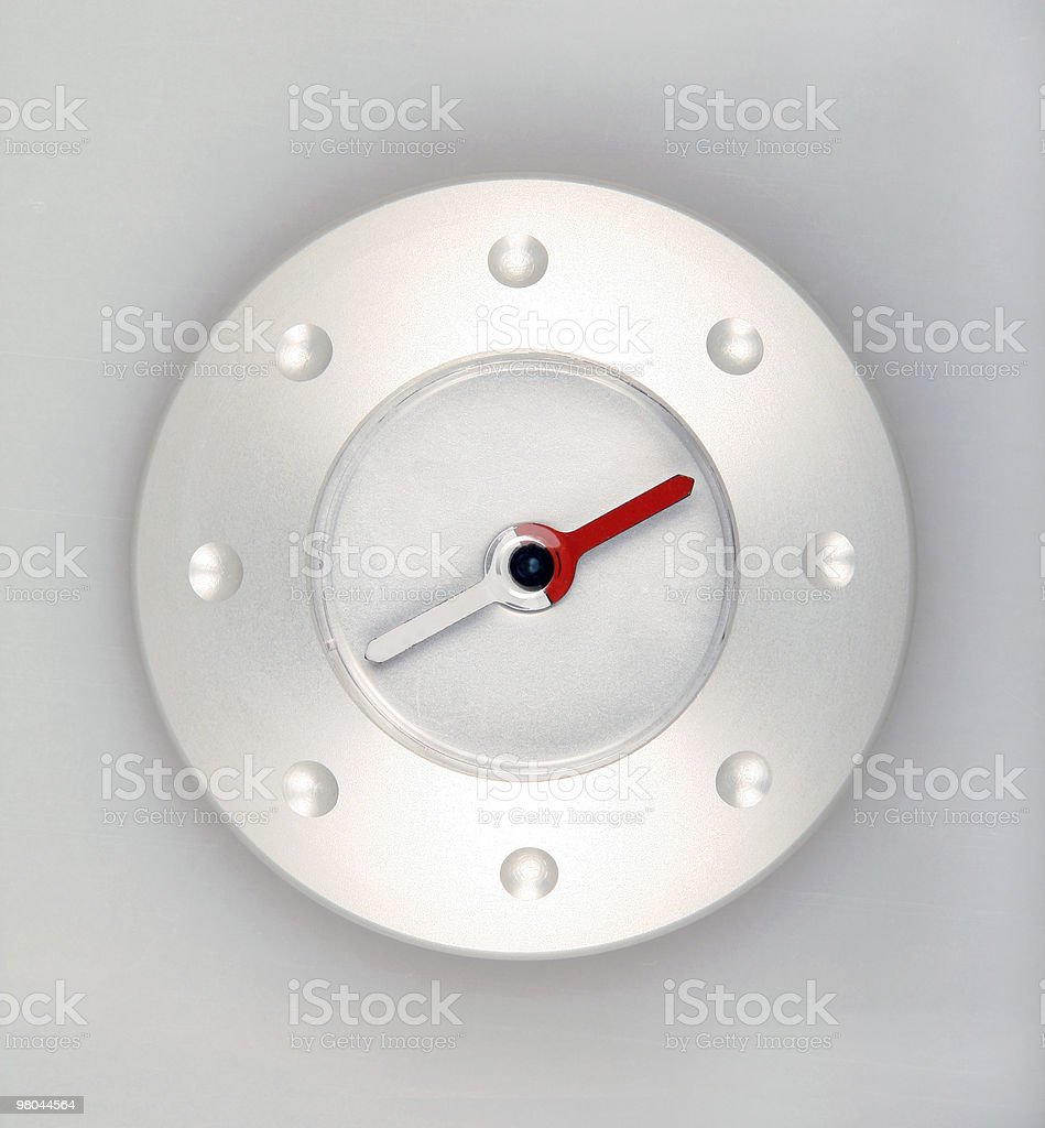 Modern compass royalty-free stock photo