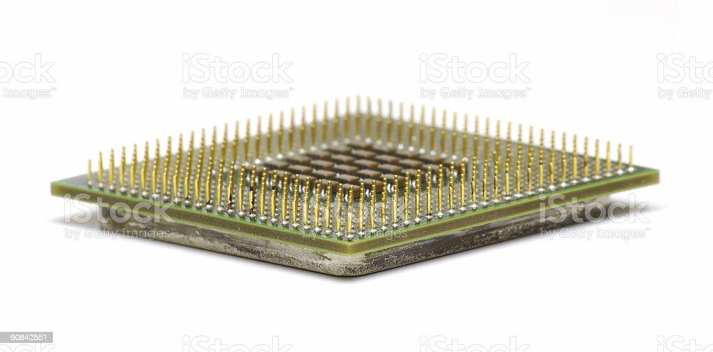 Modern Computer CPU stock photo