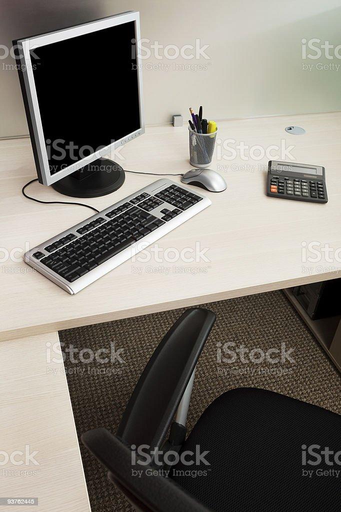modern computer royalty-free stock photo