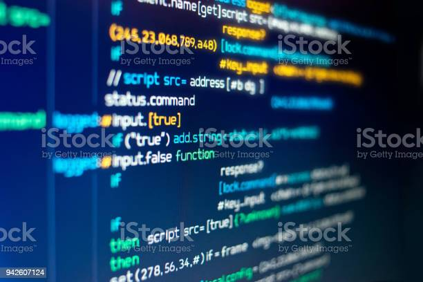 Modern computer programming code picture id942607124?b=1&k=6&m=942607124&s=612x612&h=utnd xqlmbfl gpj2lwtufczhijzvsfehh62ahmxaag=