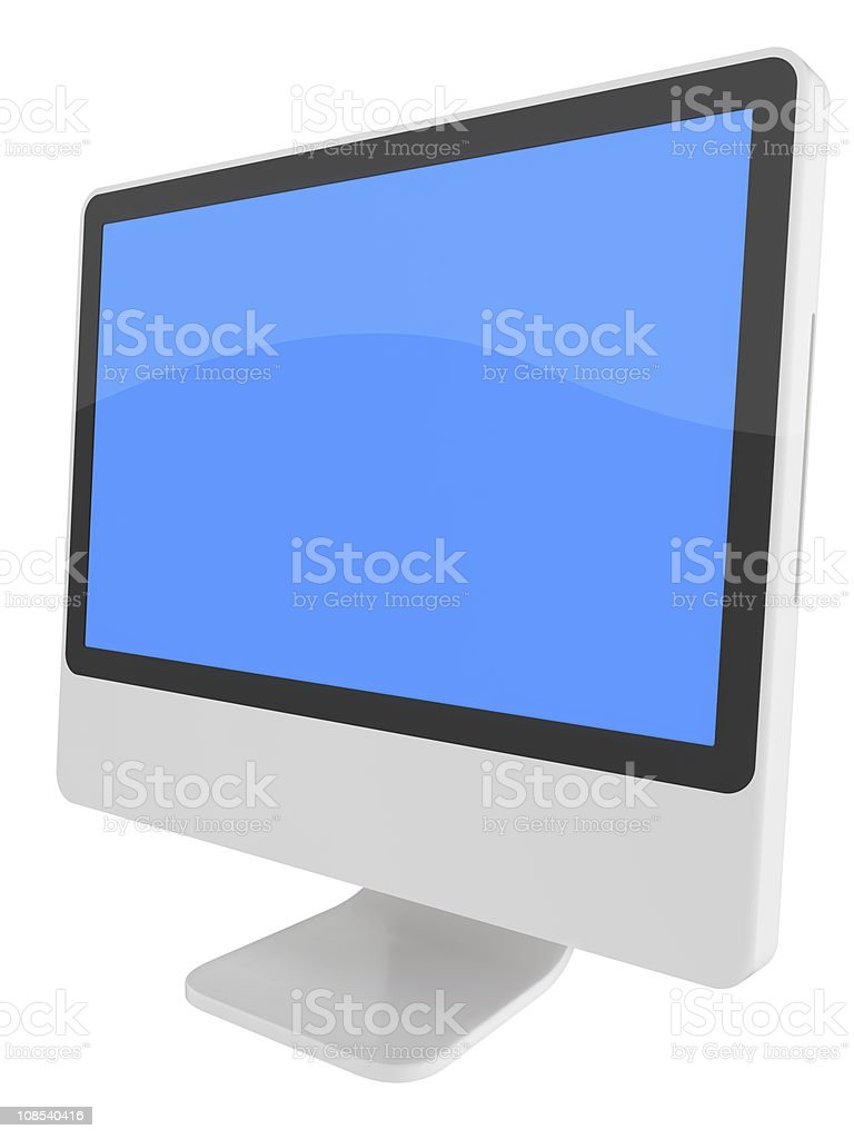 Modern Computer Series royalty-free stock photo