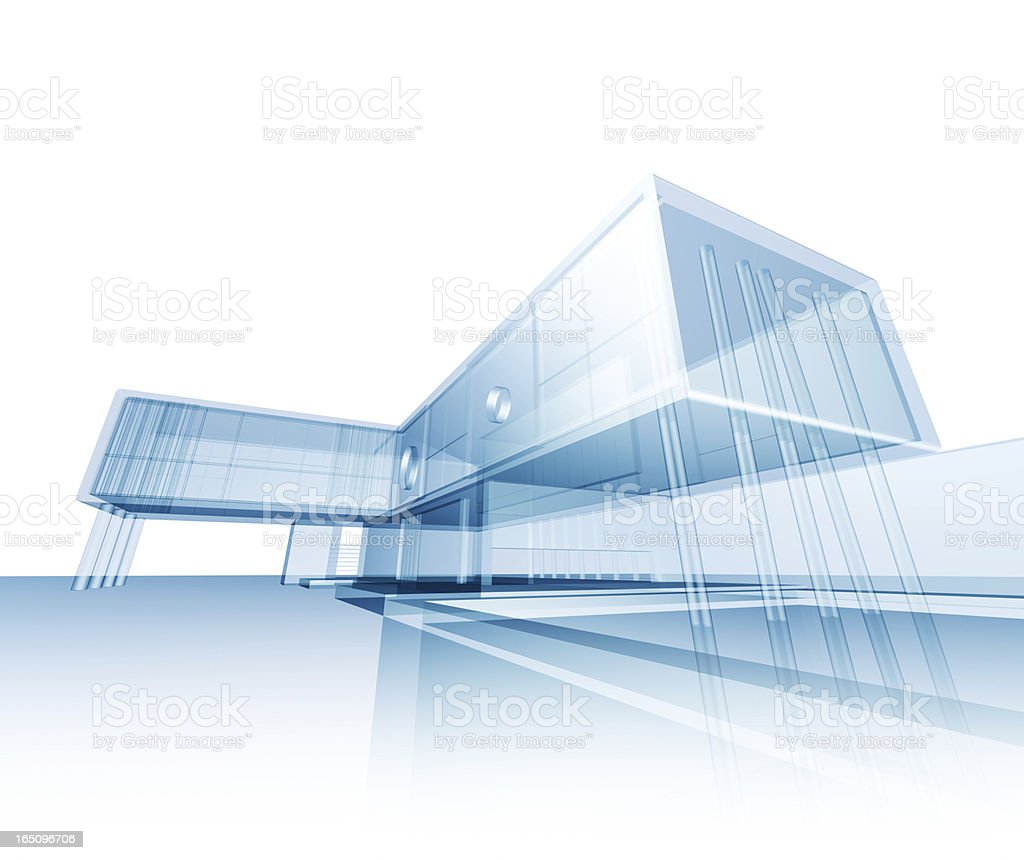 Modern concept building royalty-free stock photo