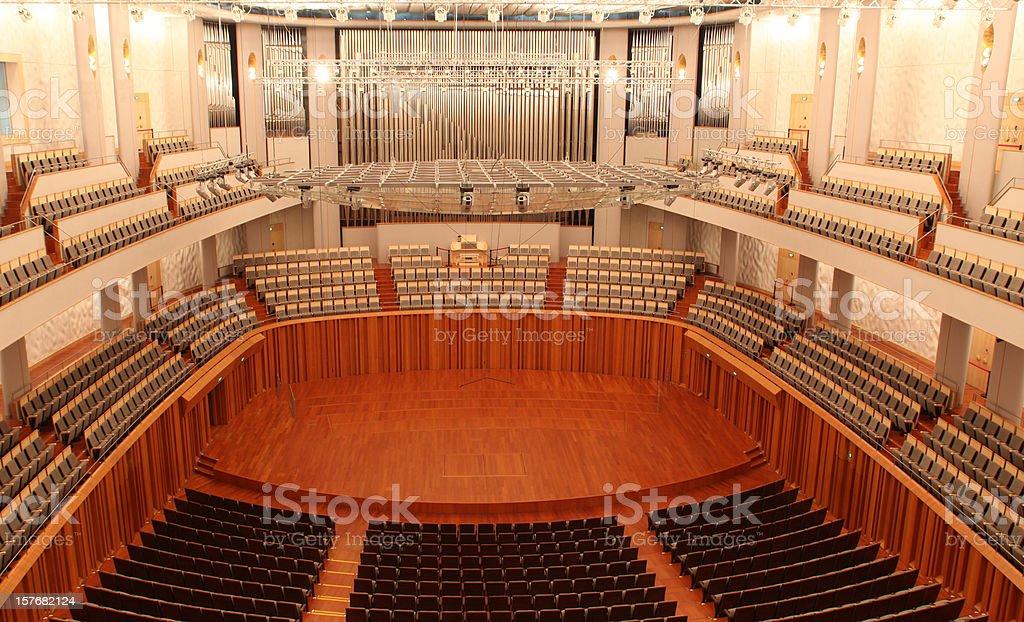 Modern Concert Hall stock photo
