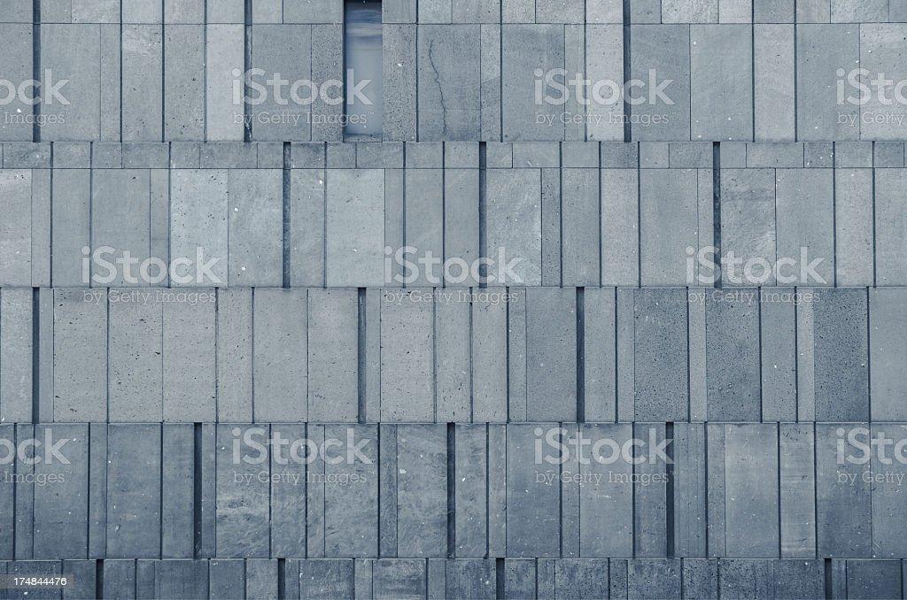 modern concrete wall royalty-free stock photo