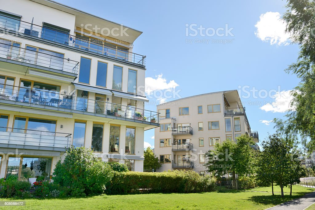 Modern Condos, Stockholm. – Foto