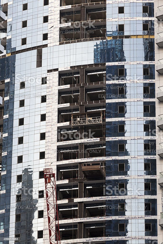 Modern construction site. royalty-free stock photo