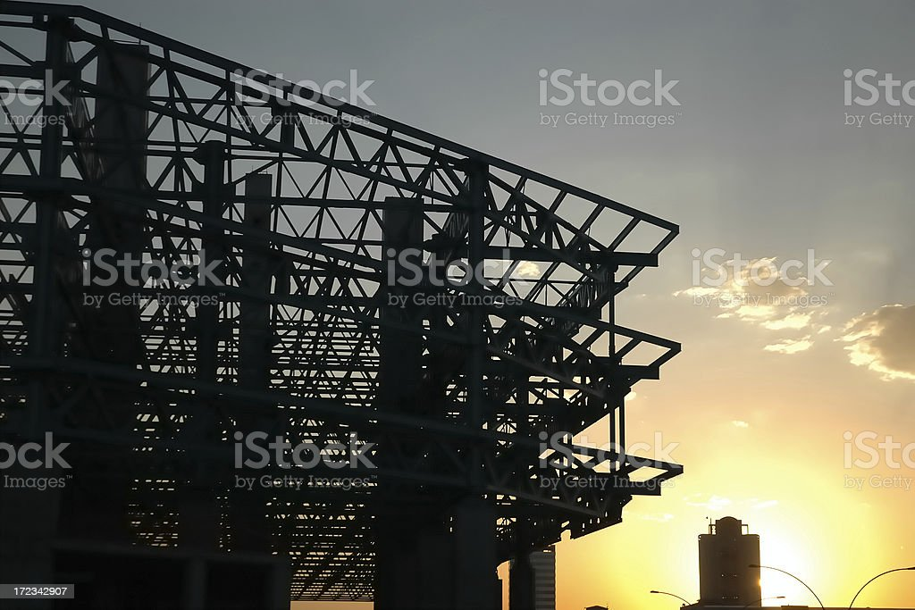 Modern Construction Techniques royalty-free stock photo