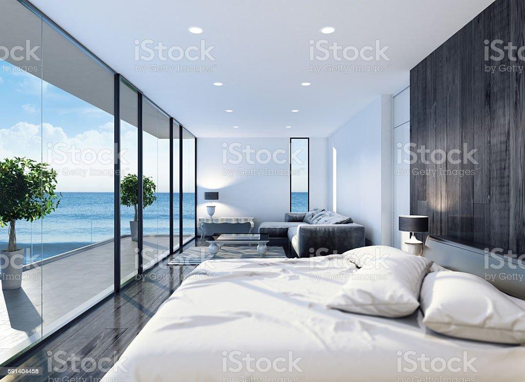 Modernes Schlafzimmer Stockfoto und mehr Bilder von Behaglich - iStock