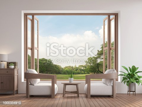 994217090istockphoto Modern contemporary living room 3d render 1000334910