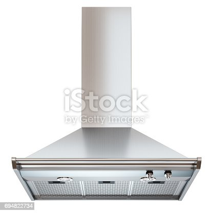 istock Modern cooker hood. Front view. 694822734