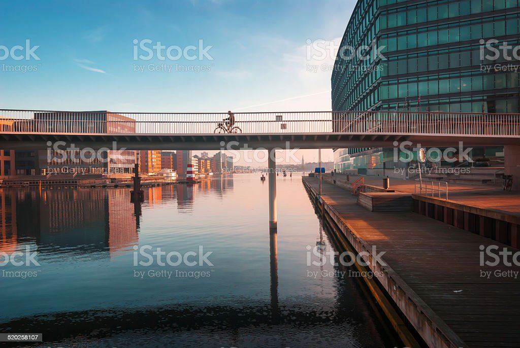 Modern Copenhagen stock photo