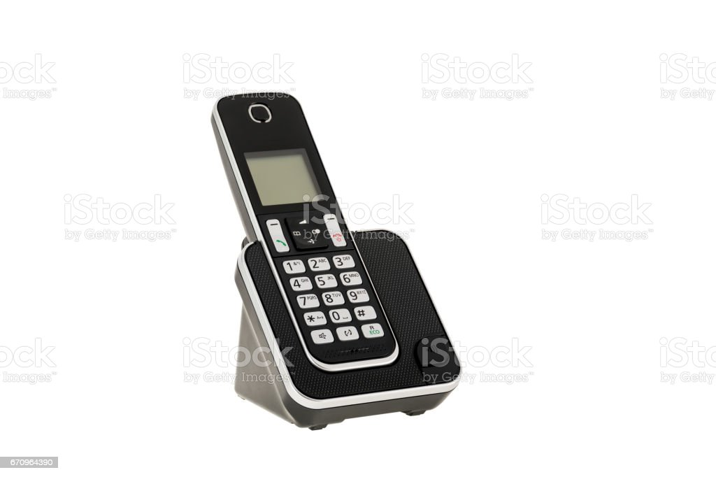 Designer Cordless Home Phones Thin Flush Wall Mount Cordless Phone
