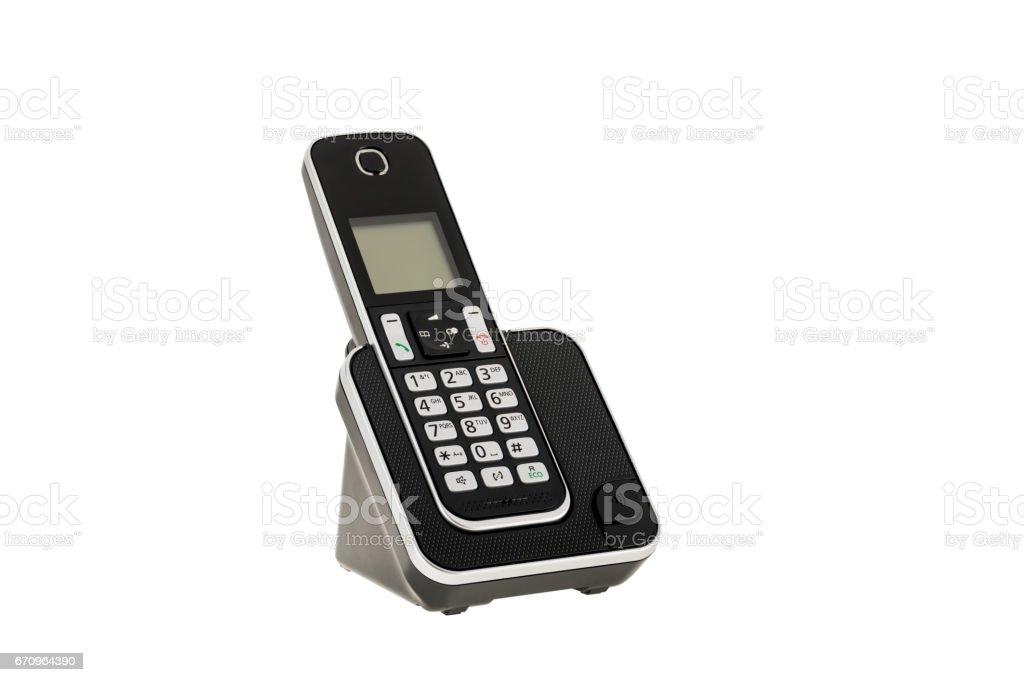 Designer Cordless Home Phones Thin Flush Wall Mount Cordless Phone
