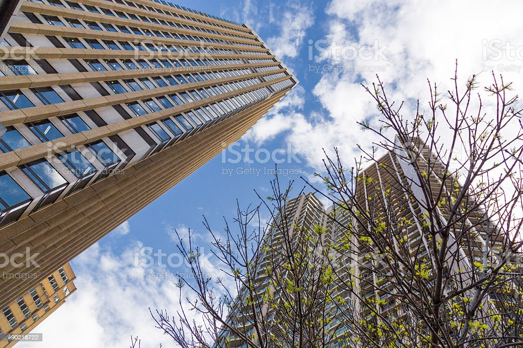 Modern Corporate Buildings stock photo