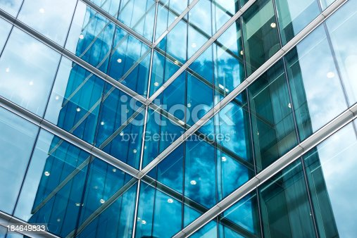 istock Modern Corporate Glass Building 184649833