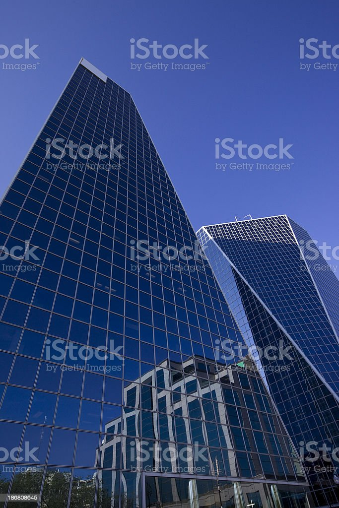 Modern Corporate Office Buildings royalty-free stock photo