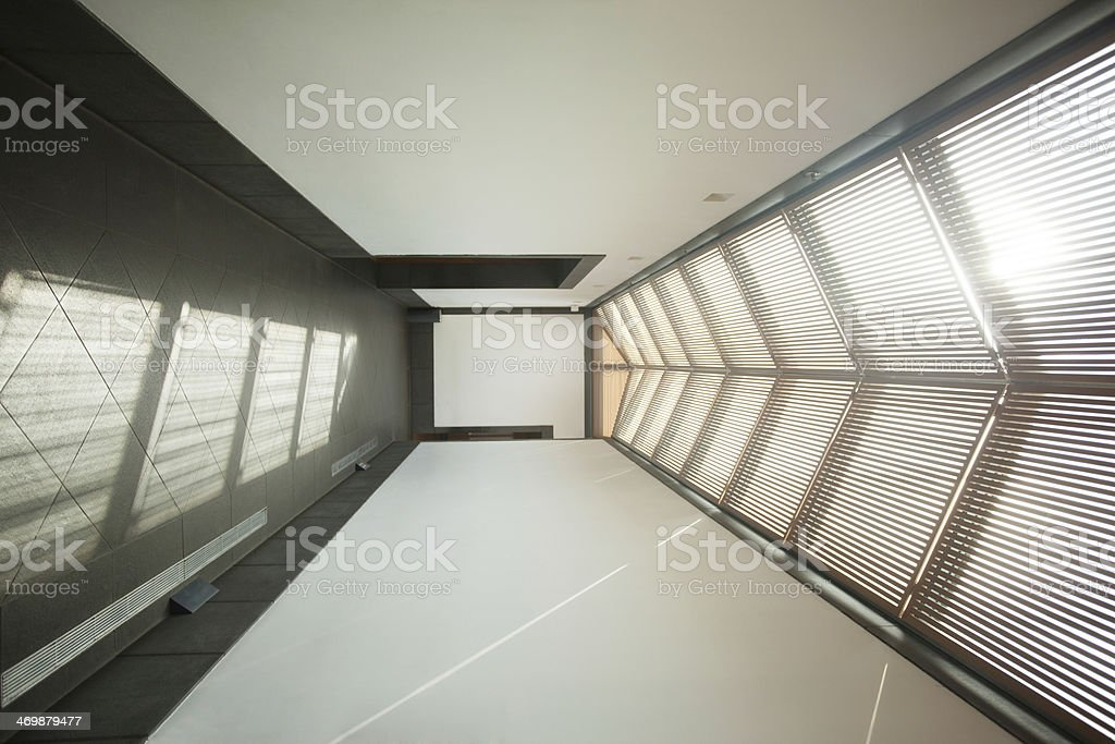 Modern corridor stock photo