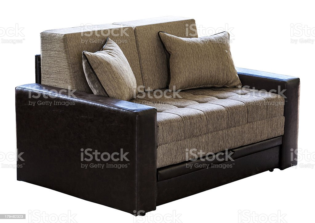 Modern couch royalty-free stock photo