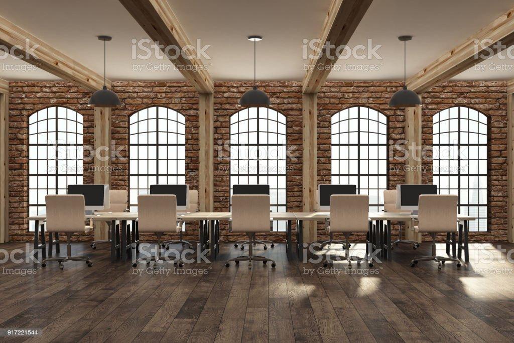Intérieur de bureau moderne de coworking u2013 photos et plus dimages