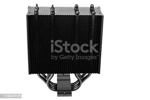 istock Modern CPU cooler 1148048129