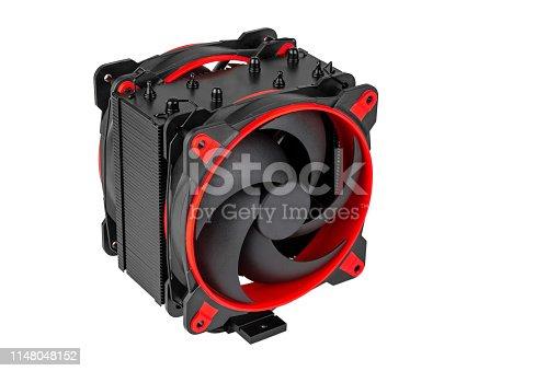 istock Modern CPU cooler 1148048152
