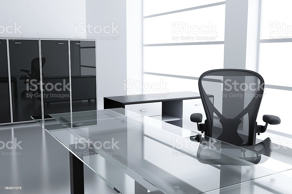 modern cubicle stock photo