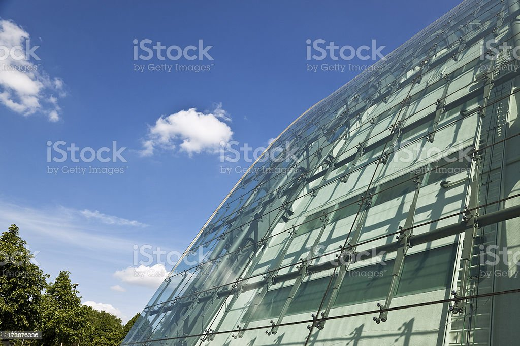modern curved office royalty-free stock photo